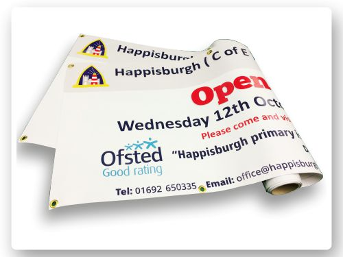 ofsted banner printing