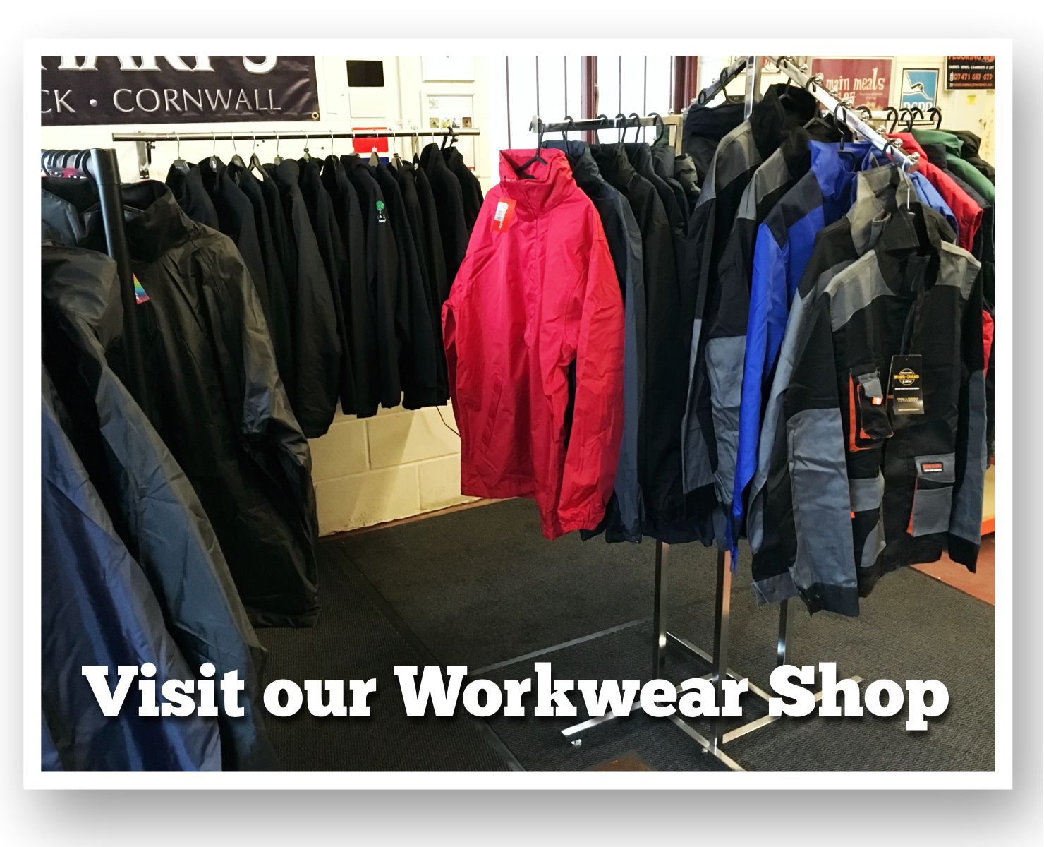 our workwear shop