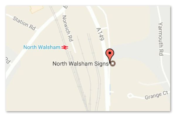 North Walsham Signs Norfolk