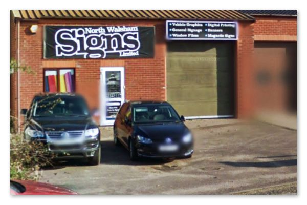 Sign Makers North Walsham